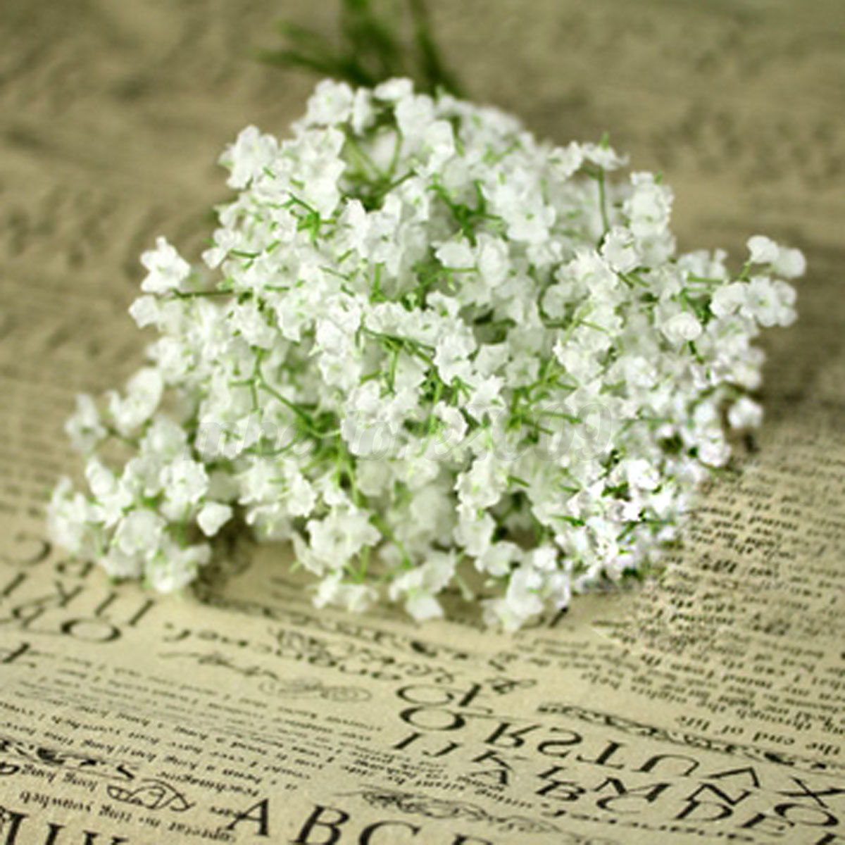 Artificial Silk Gypsophila Flower Bouquet Baby Breath Wedding Party Home Decor