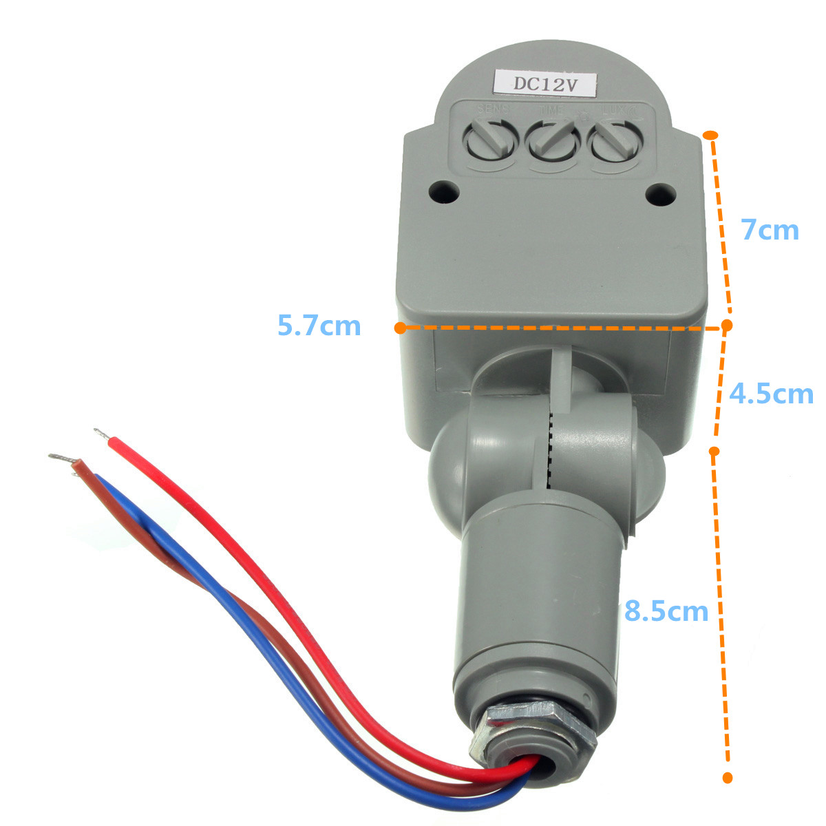 12V DC Outdoor Automatic Infrared PIR Human Motion Sensor Switch for ...