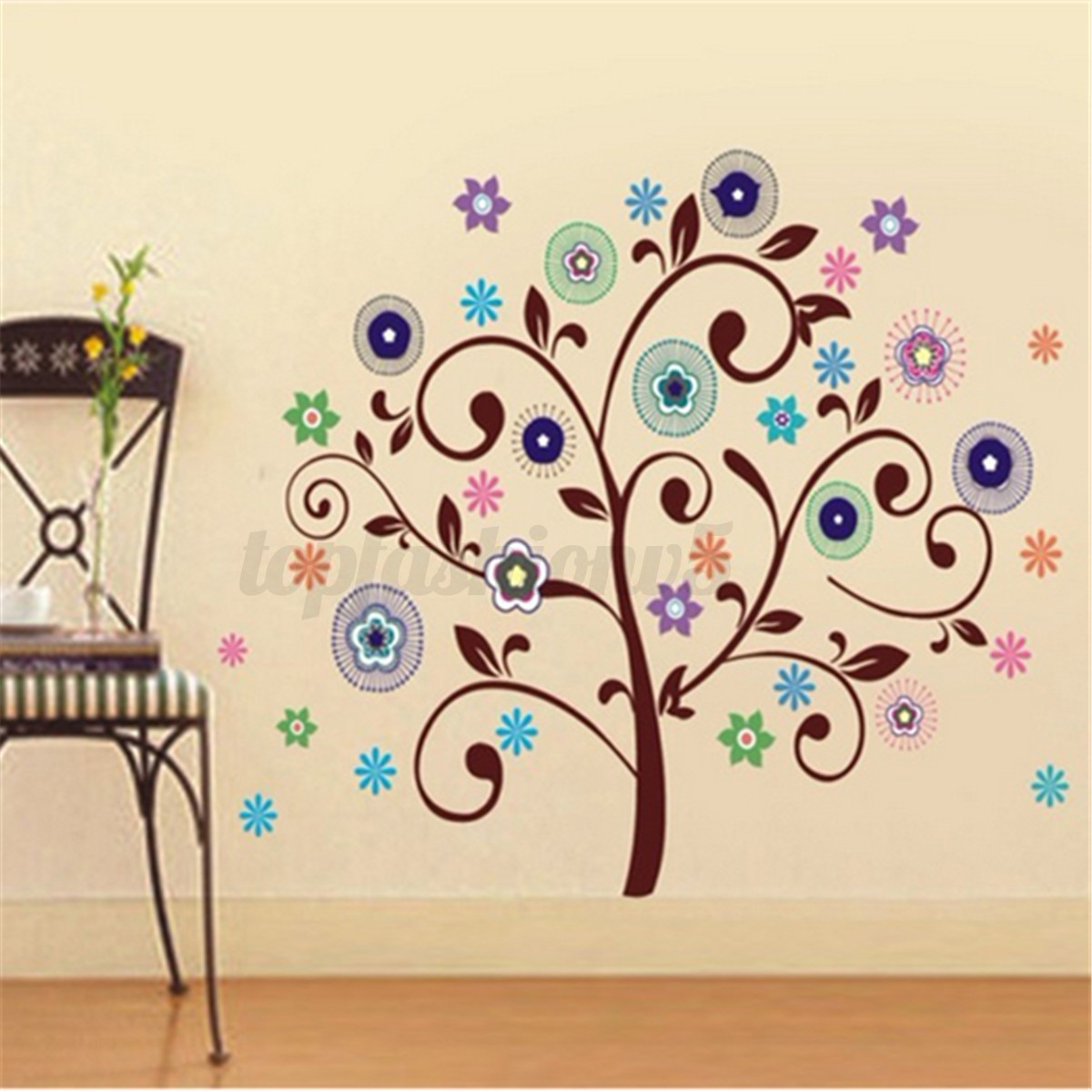 Adesivi murali wall decorazioni stickers adesivi parete removibile multi stile ebay - Decorazioni parete bambini ...