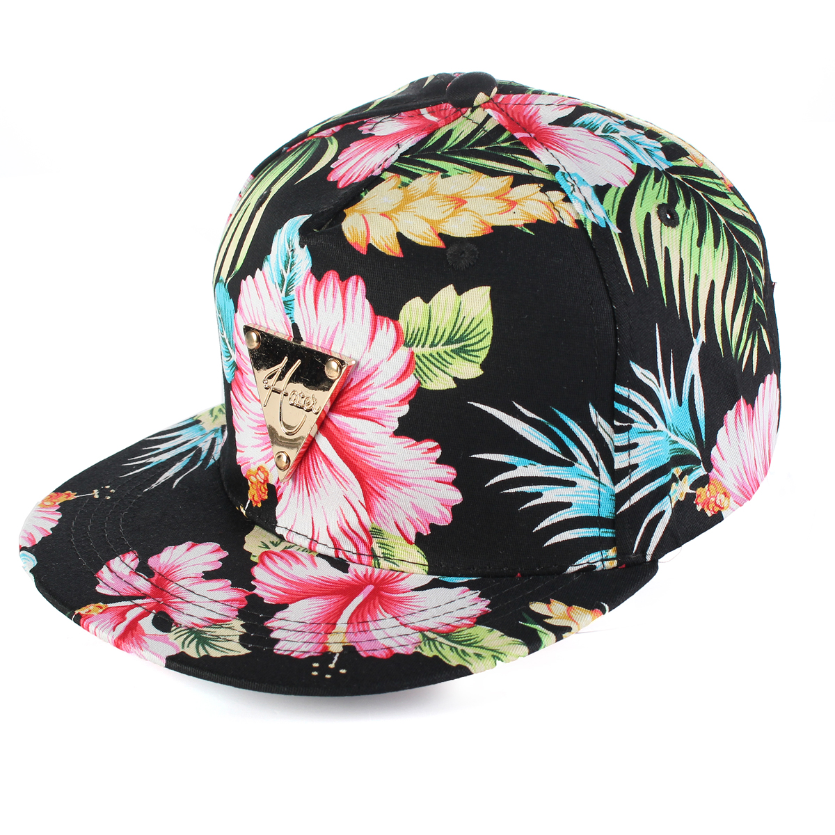 6b7d09653dd NEW Men Women Snapback Baseball Cap Hip Hop Hat Floral Letter Adjustable  Canvas