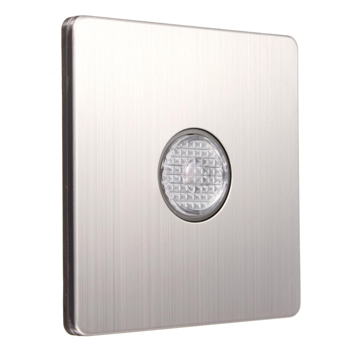 220V Wall Mount Voice Light Sensor Detector Switch Sound Light ...