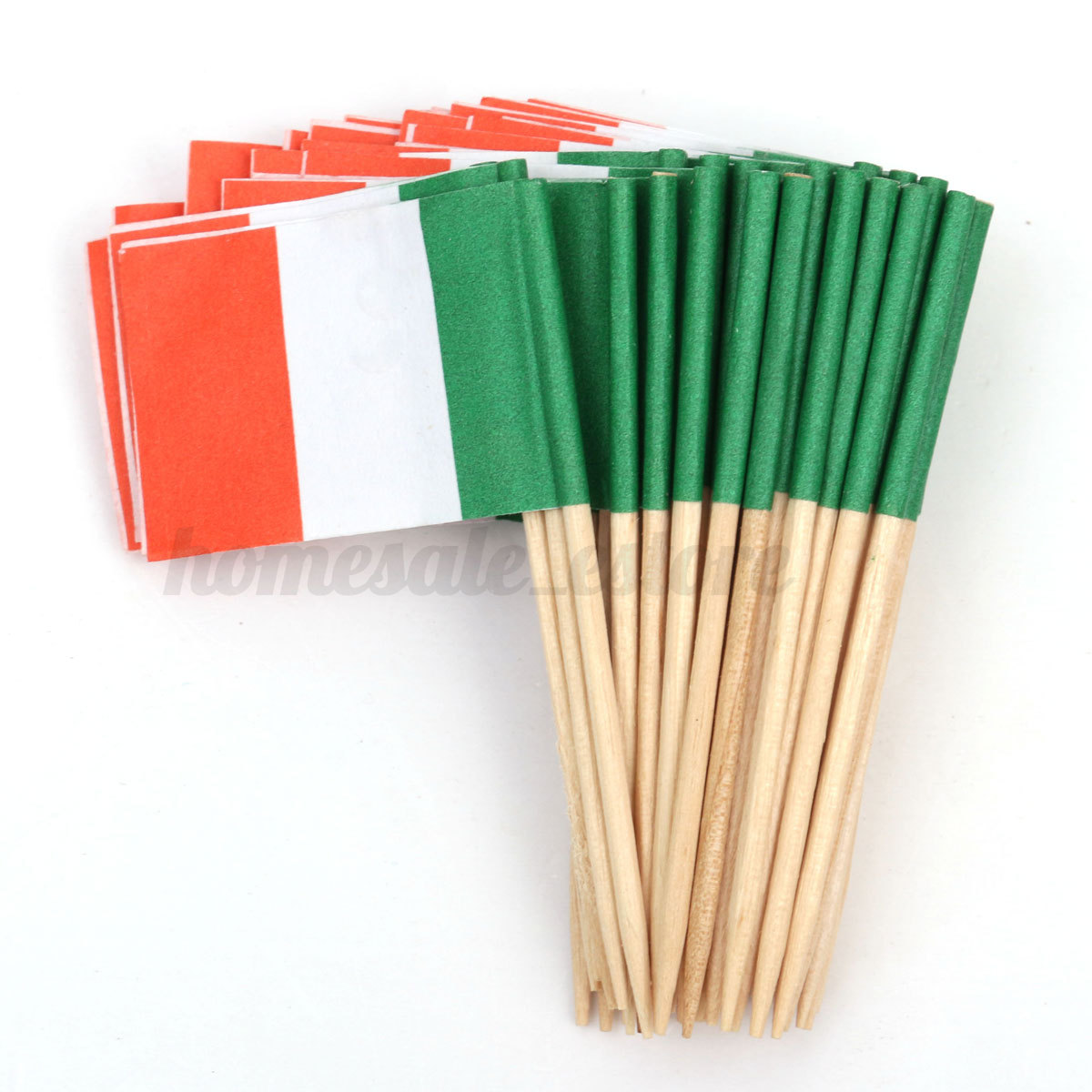 50pcs mini flag cocktail cupcake food fruit picks sticks for Decoration sticks