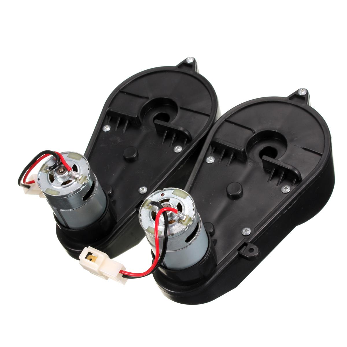 Motor Elétrico 12V Gear Box 23000RPM para as crianças Montar Carro Moto Brinquedo pouparia
