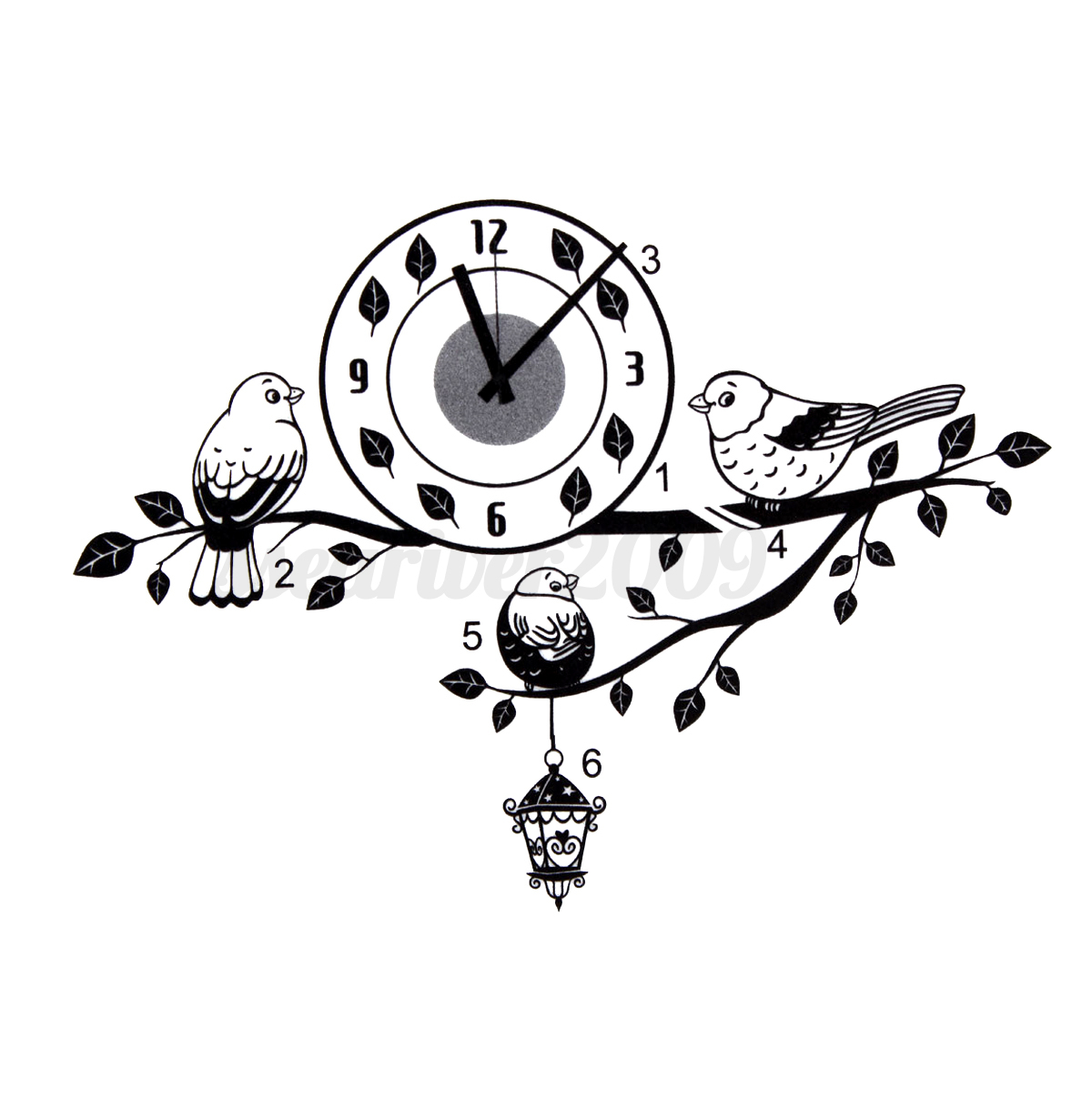 New 28 Top Fashion Wall Clock Sticker Top Fashion Silver Clock Creative Gift Big Watches