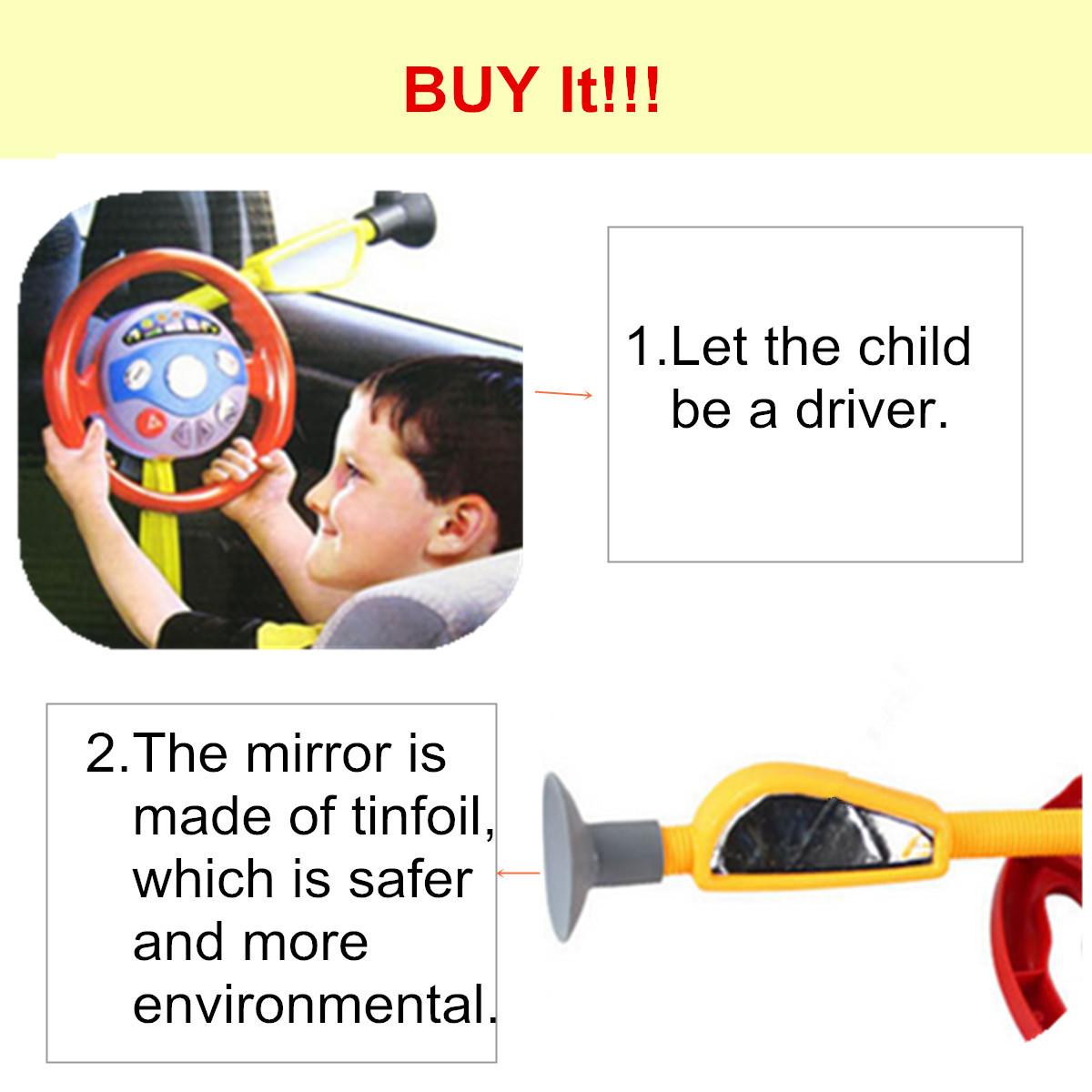 Electronic Driver Backseat Driver Car Seat Steering Wheel
