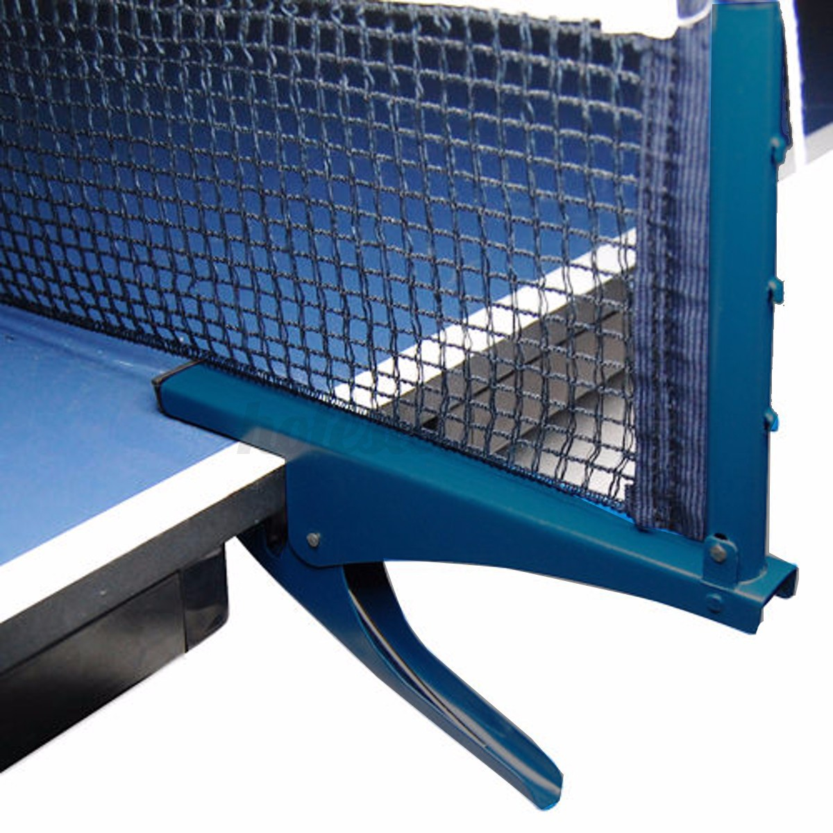 Table-Tennis-Ping-Pong-Net-Indoor-Sports-Game-Post-Clamp-Stand-Set thumbnail 1