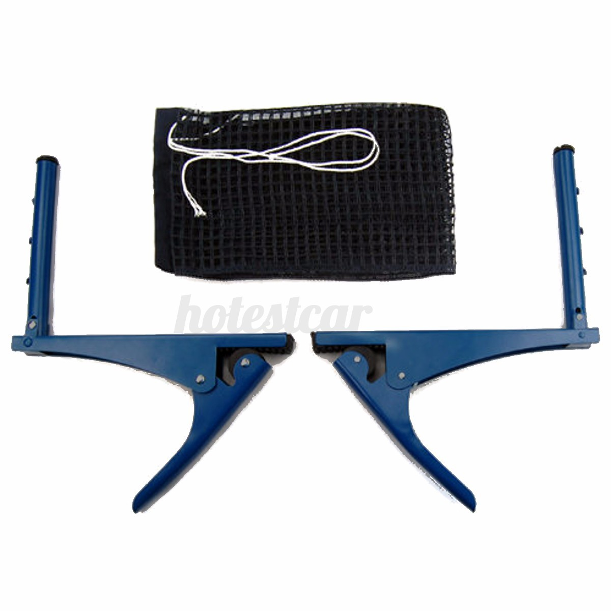 Table-Tennis-Ping-Pong-Net-Indoor-Sports-Game-Post-Clamp-Stand-Set thumbnail 2