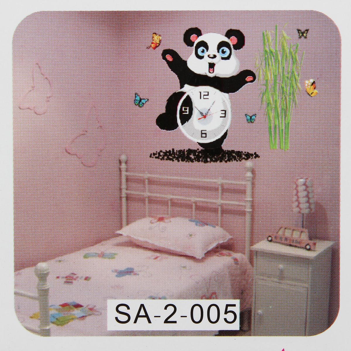 DIY Cute Wall Clock Sticker Paper Decal Home Kids Bedroom ...
