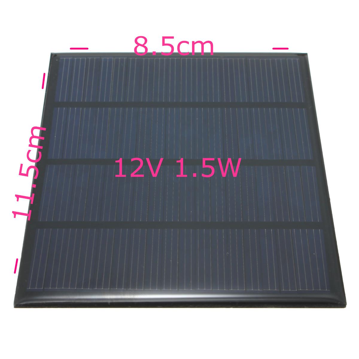 Elfeland 12v Solarpanel Solarmodul Solarzelle