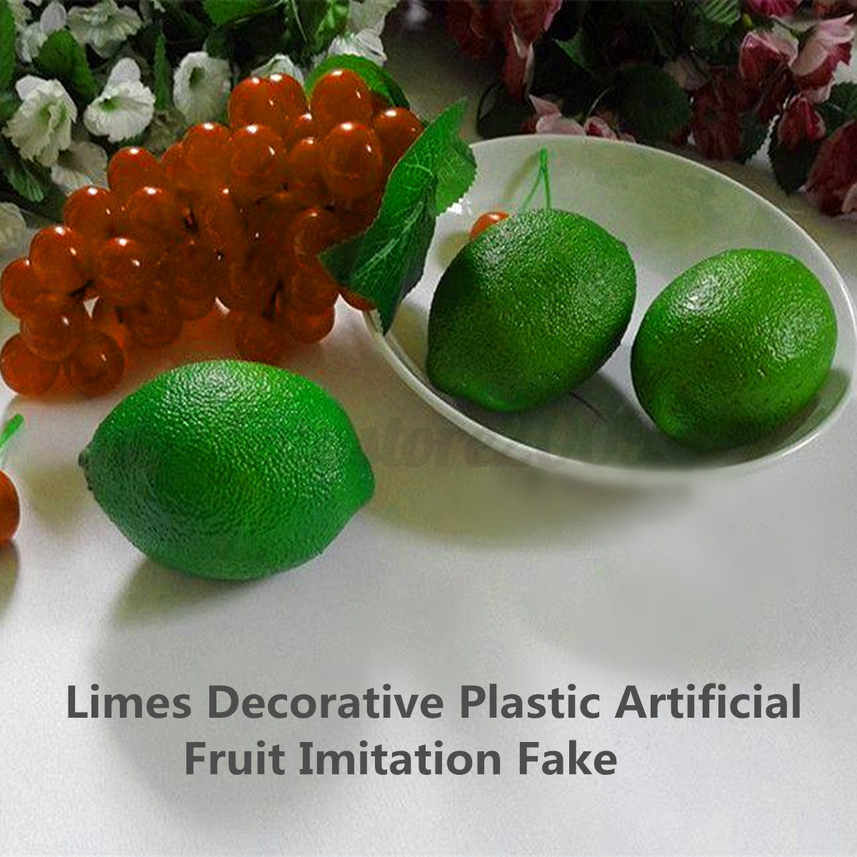 Realistic lifelike artificial plastic fake fruit kitchen for Artificial fruit decoration