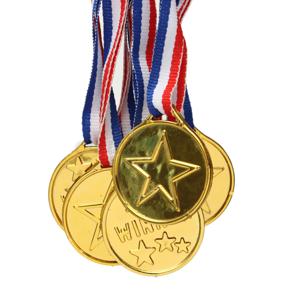 Toys For Awards : Pcs plastic gold winners medals children kids game