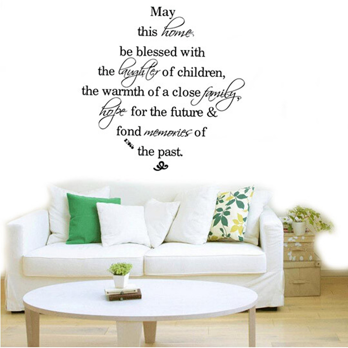 Details about Quote Word Decal Vinyl DIY Home Room Decor Art Wall Stickers  Bedroom Removable !