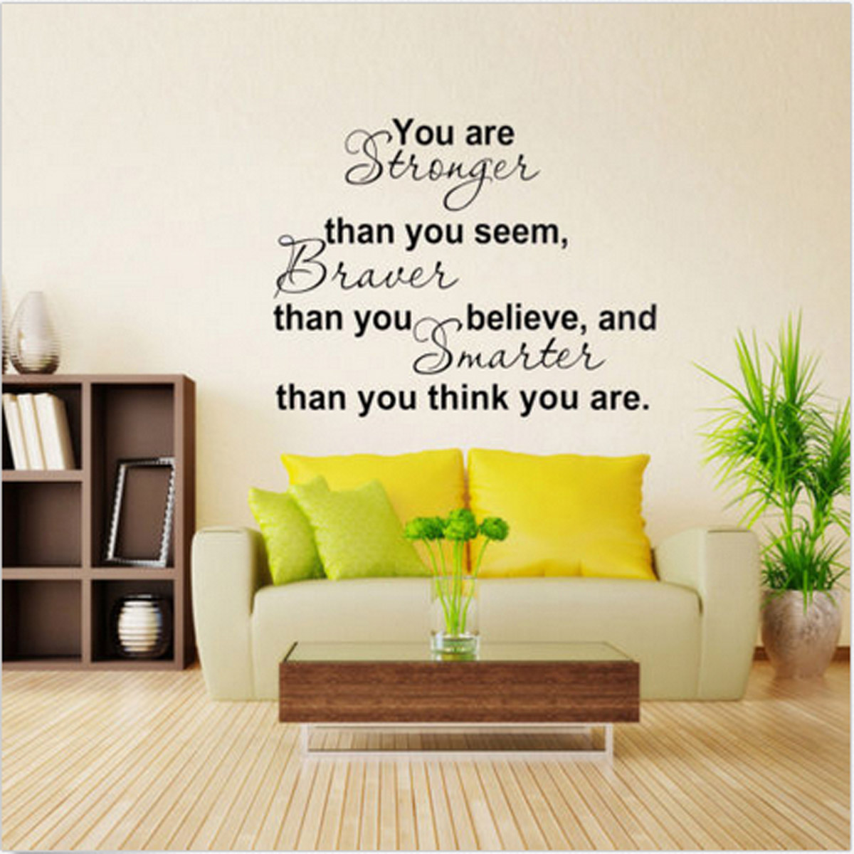 Quote Word Decal Vinyl DIY Home Room Decor Art Wall Stickers ...