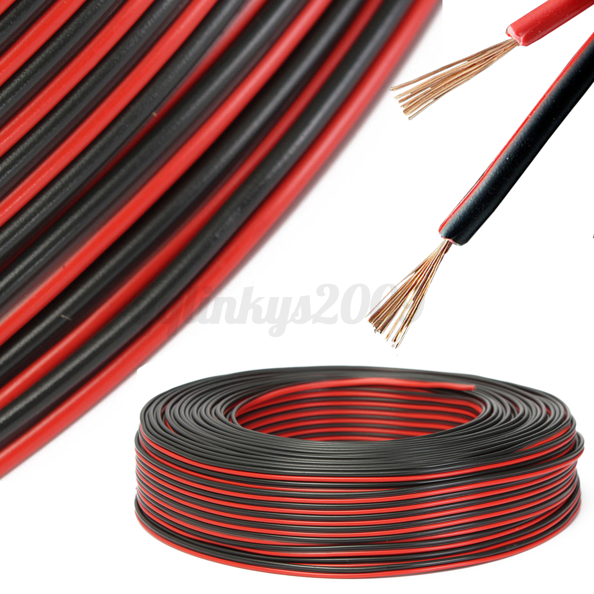 Speaker Wire In House : Heavy duty core speaker cable wire car home stereo hifi