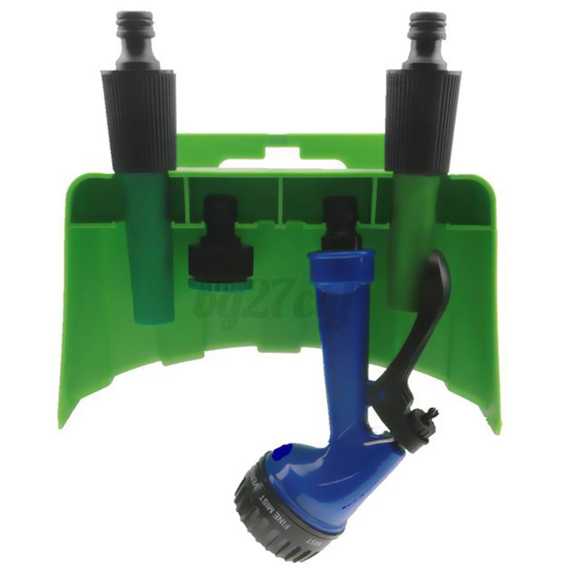 Wall mounted tap hose pipe hanger reel storage holder