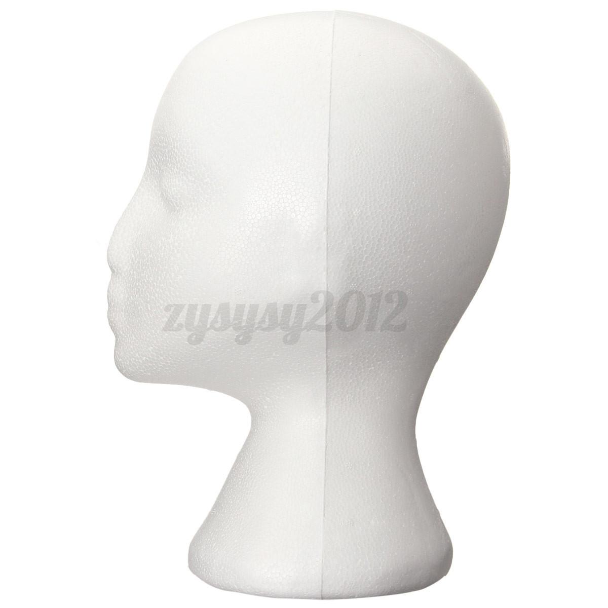 femme t te mannequin presentoir perruque chapeau socle. Black Bedroom Furniture Sets. Home Design Ideas