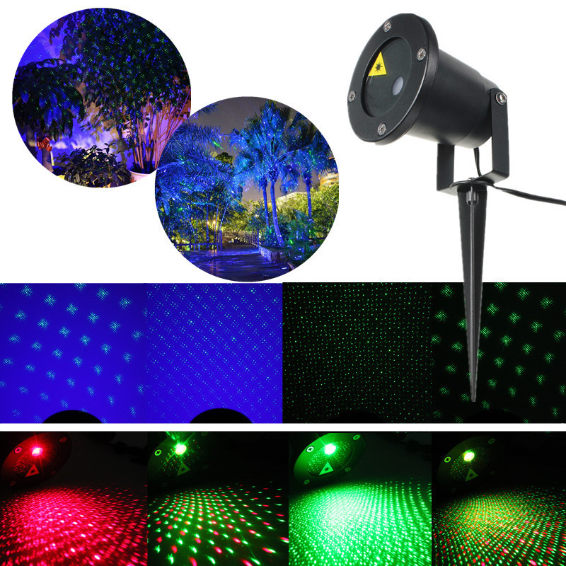 led laser party licht projector landschaft lichteffekt gartenleuchte au en deko ebay. Black Bedroom Furniture Sets. Home Design Ideas
