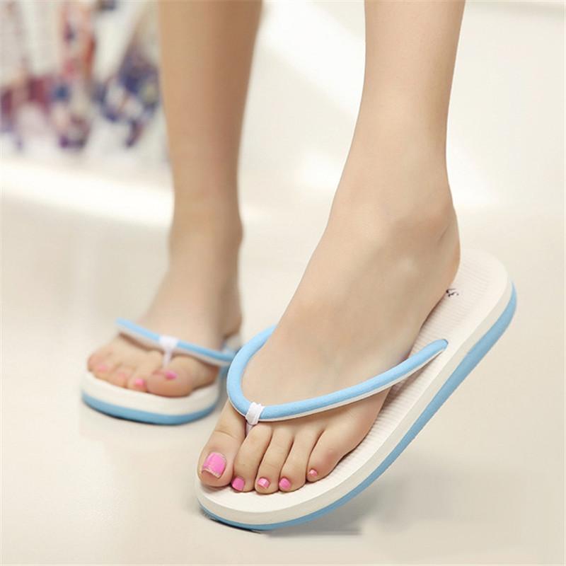 b3b912bb96a Men Women Unisex Summer Casual Flip Flops Beach Slippers Sandals Summer  Shoes