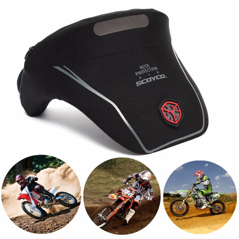 US New Moto Neck Brace Protector Motocross Offroad Racing Protection Gear