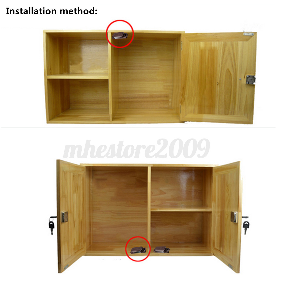 kitchen cabinets ebay magnetic door catches kitchen cupboard cabinet 20337