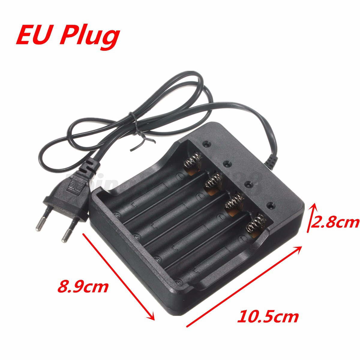 eu chargeur charger pr accu batterie battery pile 26650 18650 li ion voyage ebay. Black Bedroom Furniture Sets. Home Design Ideas