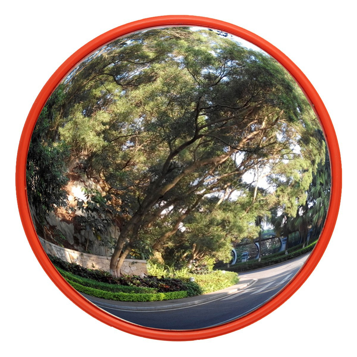 30 45 60cm wide angle security curved convex road mirror for Mirror 60cm wide