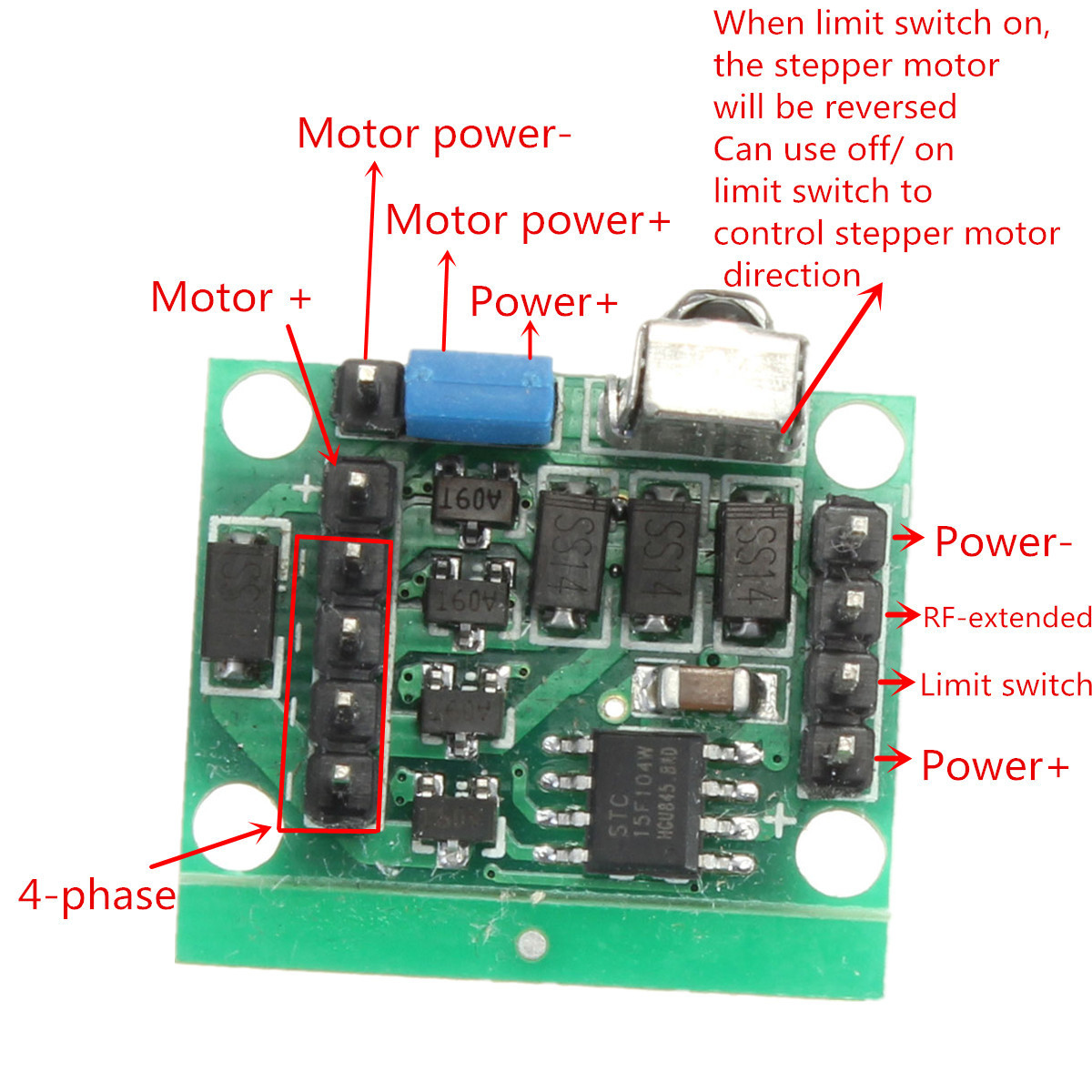 Stepper Motor Five Phase Stepper Motor Of Likewise Wiring Stepper