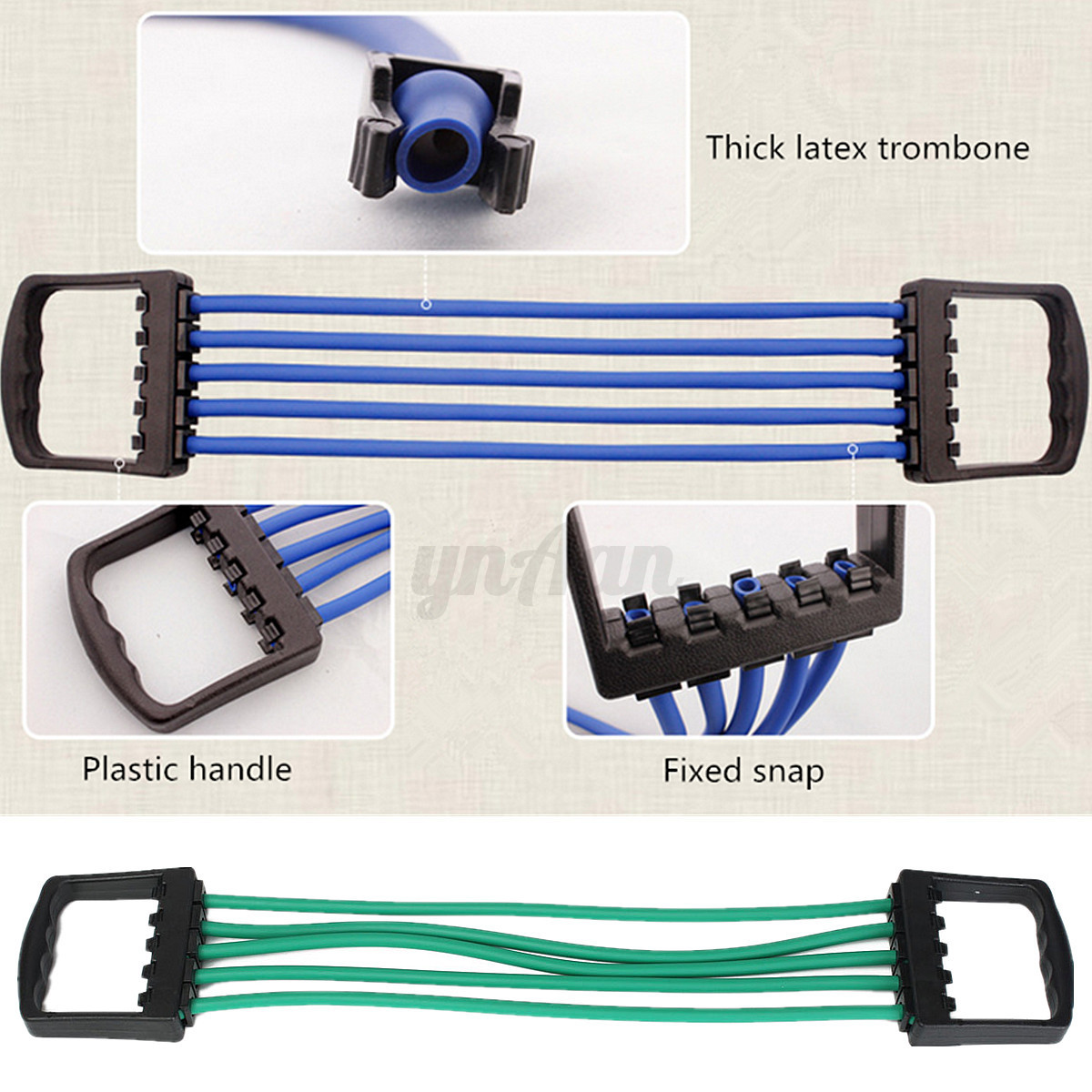 how to use chest expander springs
