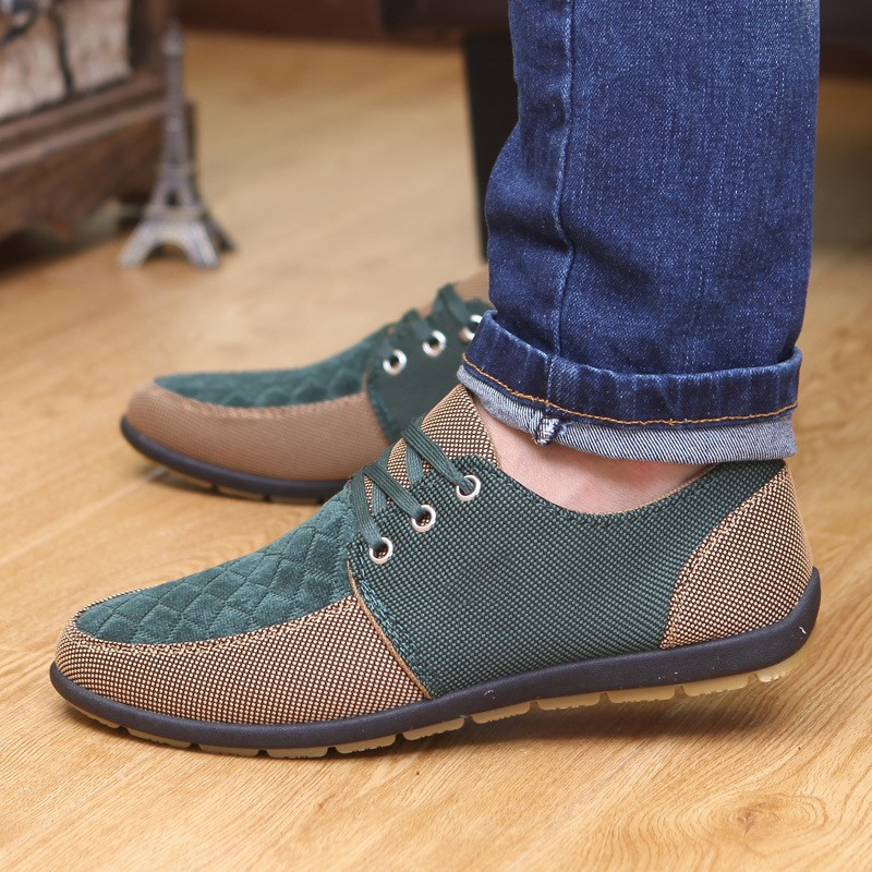 Patchwork Mustang Dress Shoes