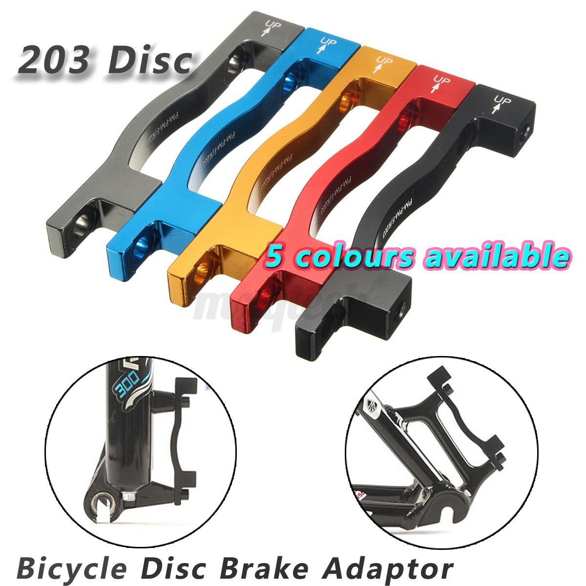 Mtb Bicycle Bike Disc Brake Mount Adaptor For 203mm Front