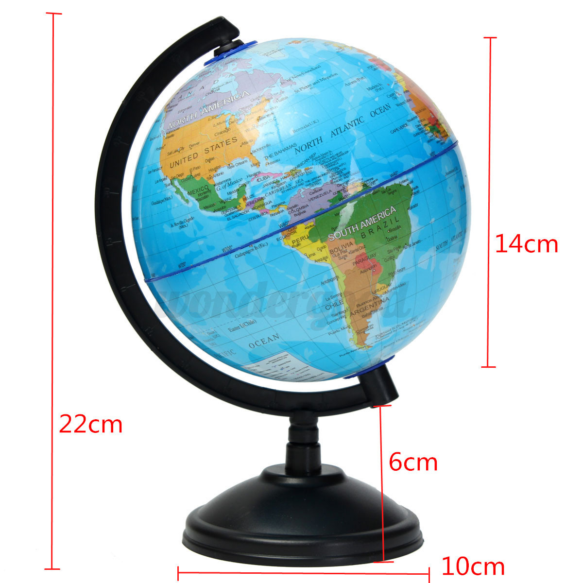 85 32cm atlas world map earth globe swivel stand geography resntentobalflowflowcomponenttechnicalissues gumiabroncs Image collections