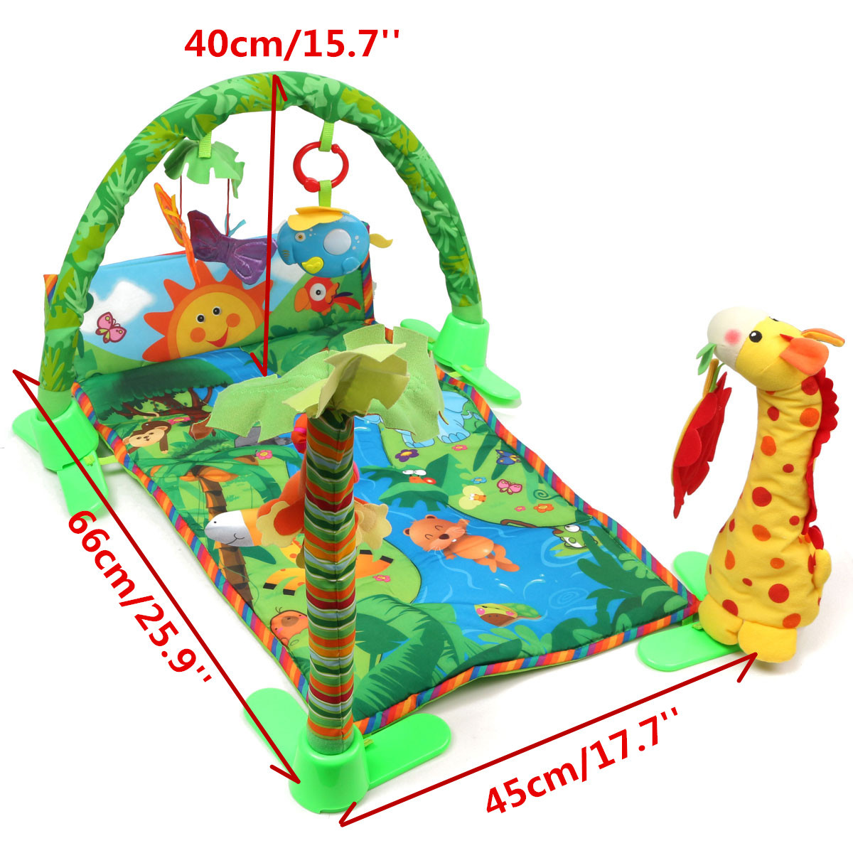 9 Type Baby Kid Playmat Play Musical Pedal Piano Activity
