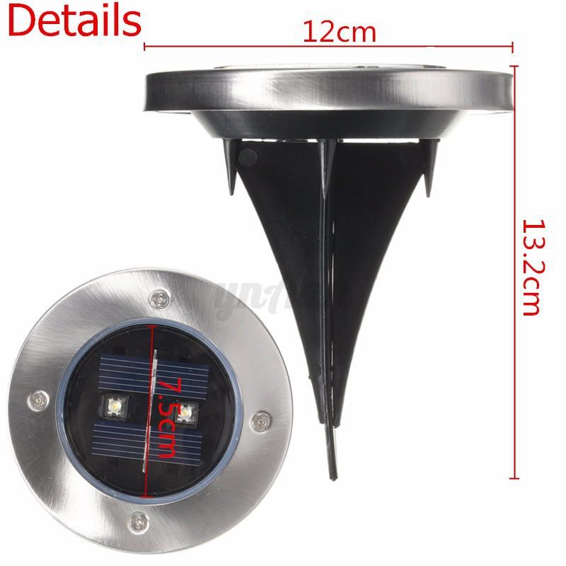 solar led gartenstrahler au enstrahler spie strahler leuchte bodenleuchte ip44 ebay. Black Bedroom Furniture Sets. Home Design Ideas