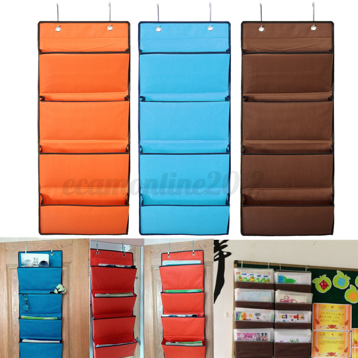 4 tier over door hanging hook organiser organizer for Door organizer