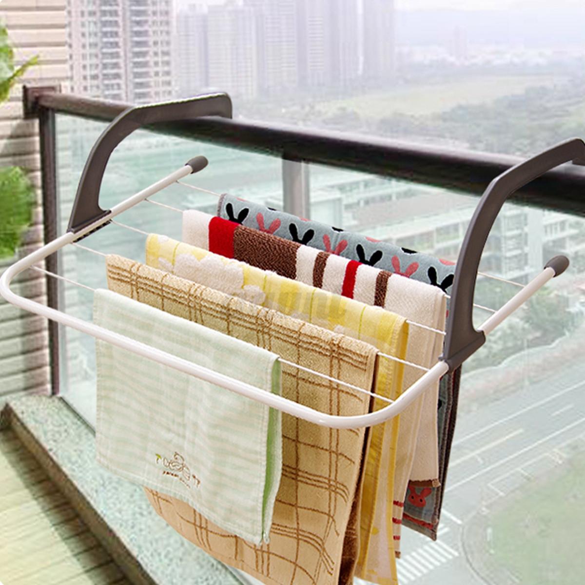folding clothes rack drying laundry multifunction hanger. Black Bedroom Furniture Sets. Home Design Ideas
