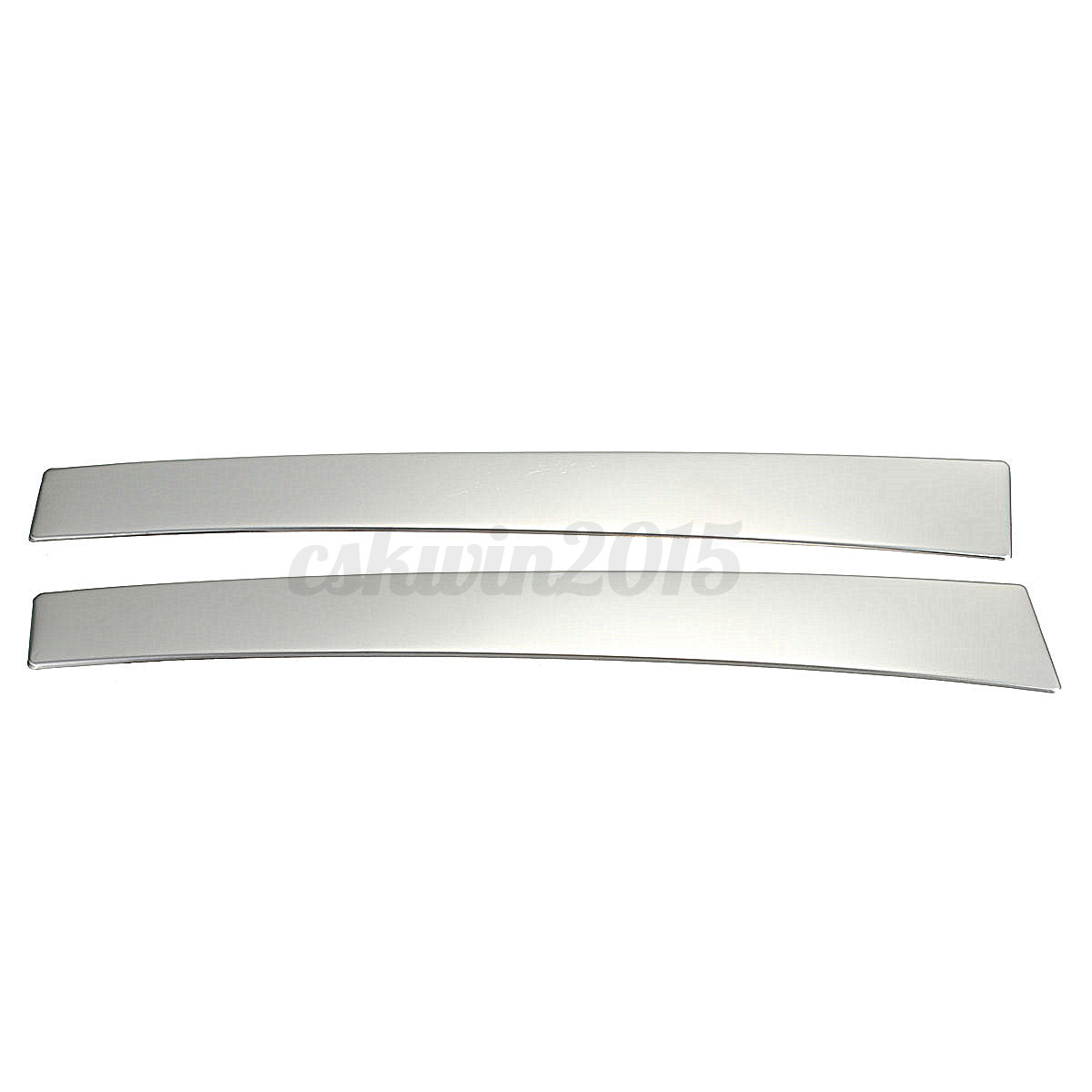 High Quality 2pcs Stainless Steel For Volvo S60 S60l V60: Chrome Silver Cup Holders Center Console Panel Cover Fit