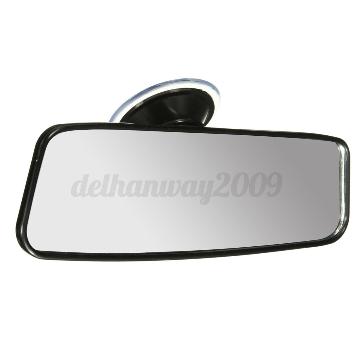 windscreen suction stick on interior rear view mirror car learner adjustable new ebay. Black Bedroom Furniture Sets. Home Design Ideas