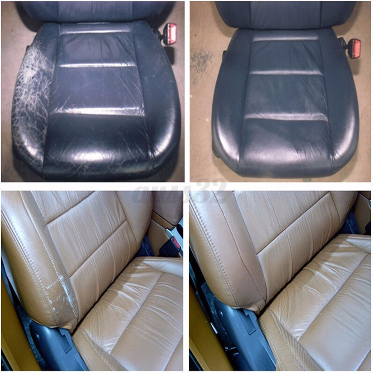 7 colours professional car seat leather vinyl cracks scratches repair tool kit ebay. Black Bedroom Furniture Sets. Home Design Ideas