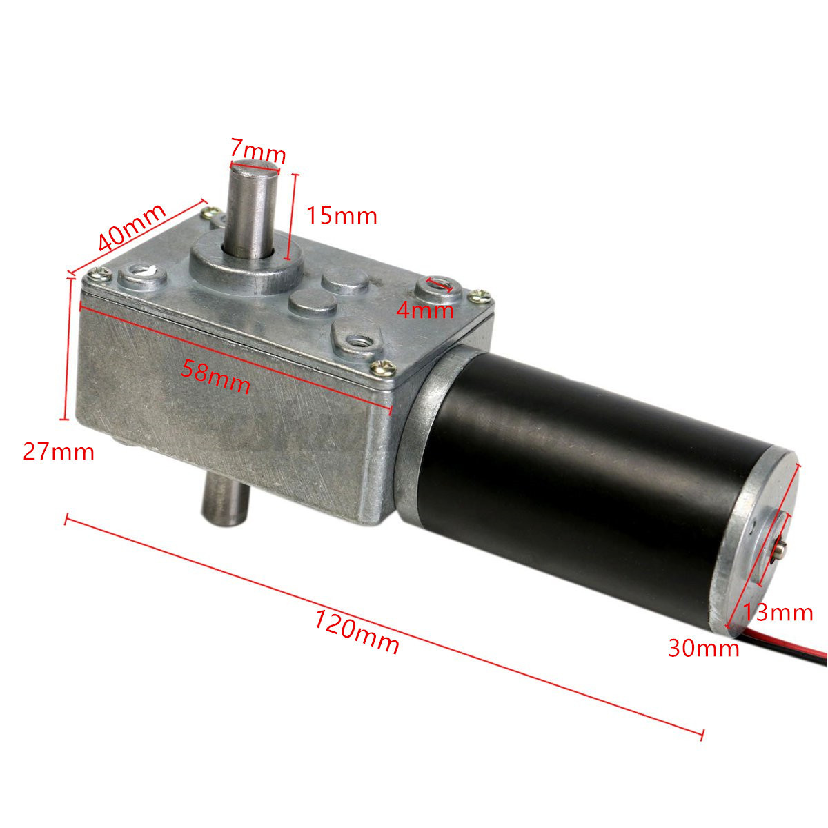 Dc 12v 160rpm electric reduction motor double shaft for Ebay motors financing bad credit