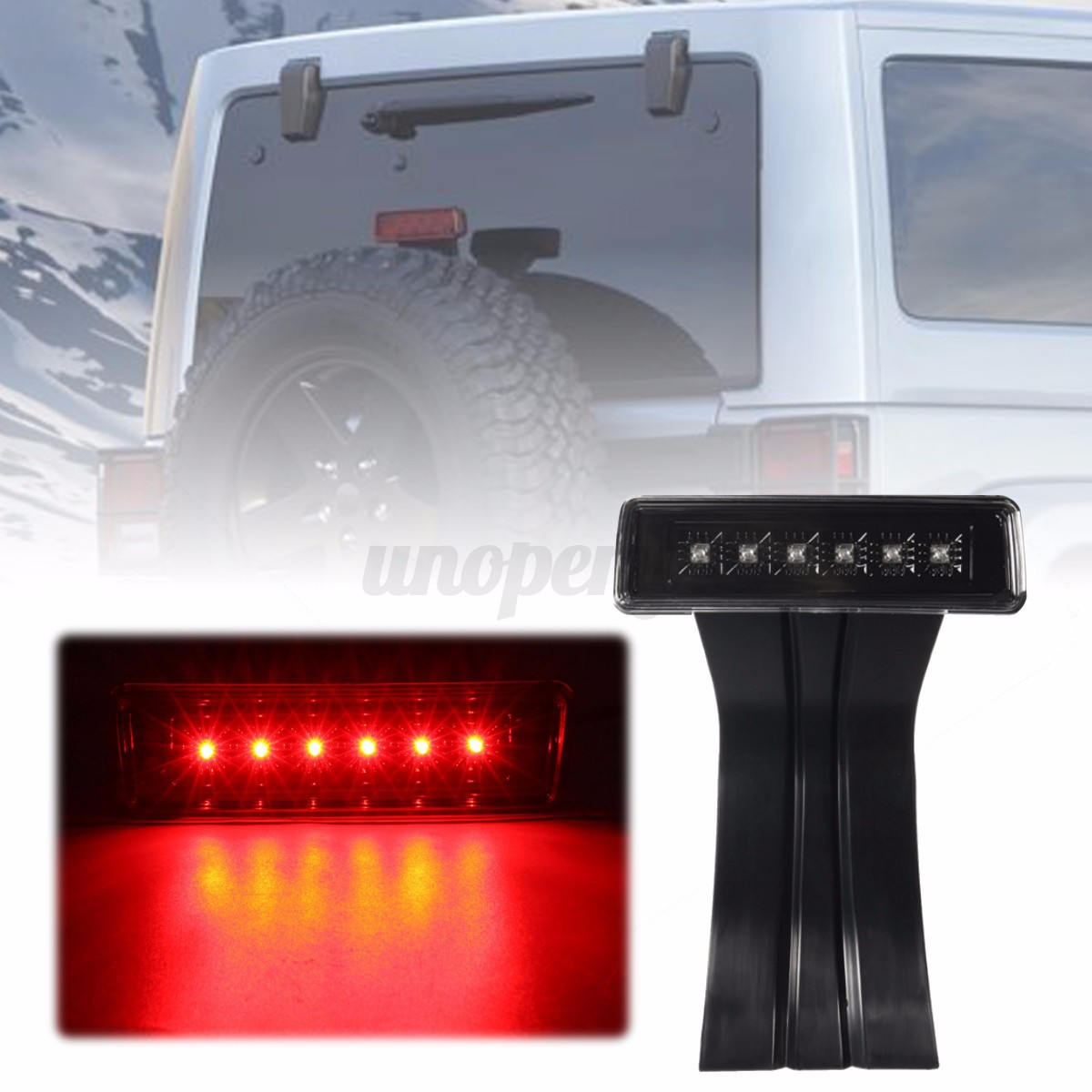 Jeep Wrangler Third Tail Light Wiring Diagrams 1994 Harness Led Clear Lens 3rd Rear Brake Lamp For Lights 95 Diagram