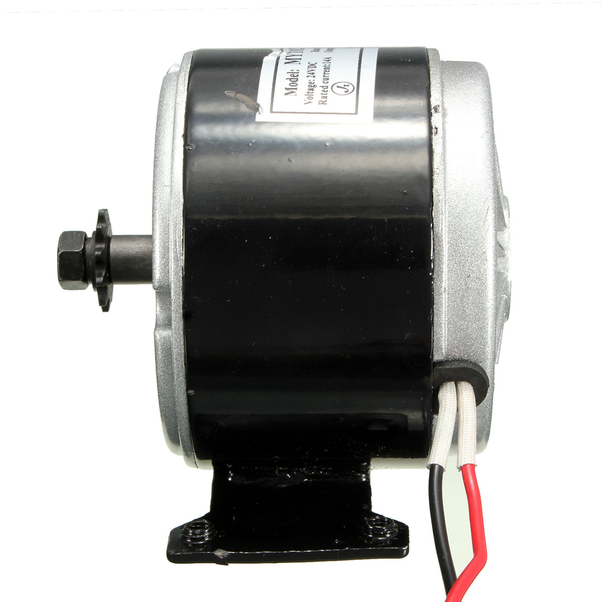 24v Electric Motor Brushed 250w 2750rpm Chain For E
