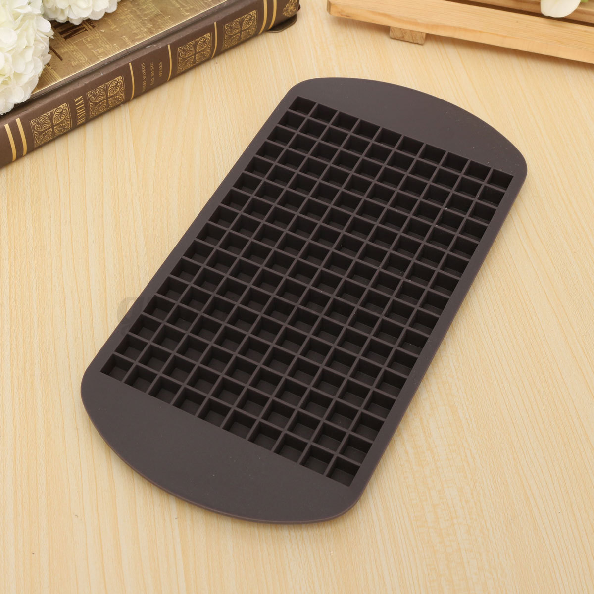 Small Cubes And Limited P: 160 Mini Small Ice Cube Tray Frozen Cubes Trays Kitchen