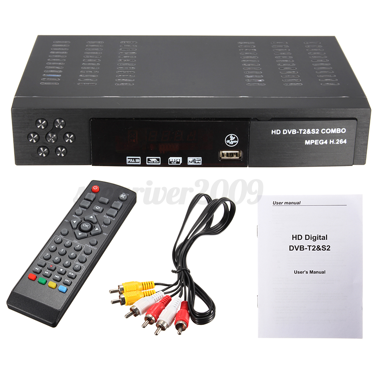 eu full hd 1080p dvb t2 s2 video broadcasting satellite receiver tv hdtv box. Black Bedroom Furniture Sets. Home Design Ideas