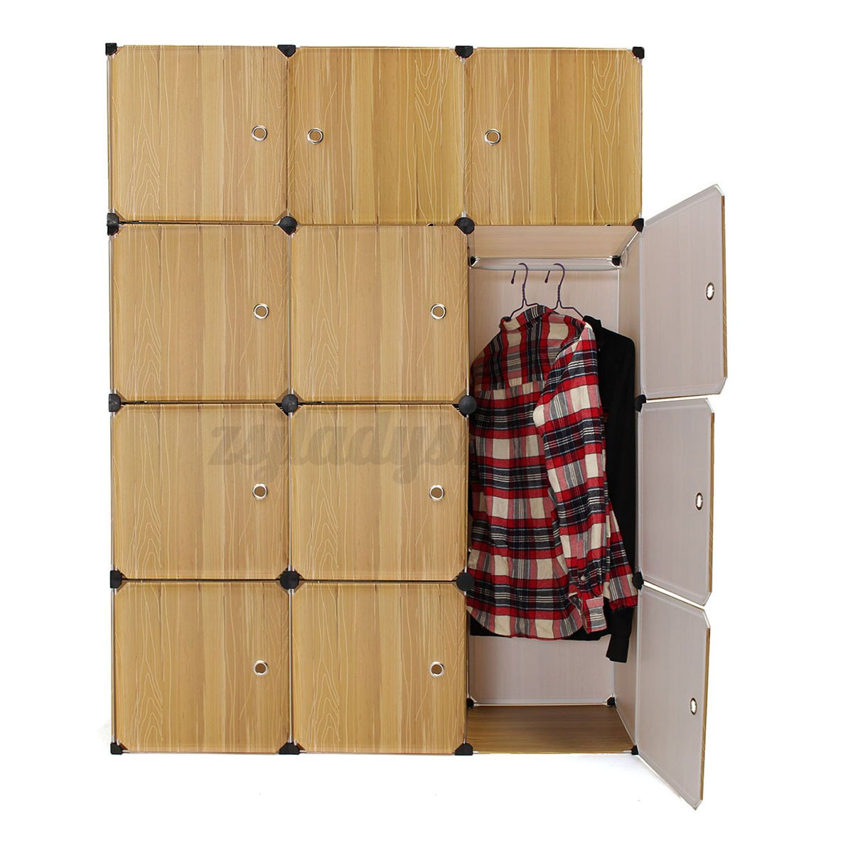 Zelt Cube Wardrobe : Cube portable clothes closet organizer cupboard