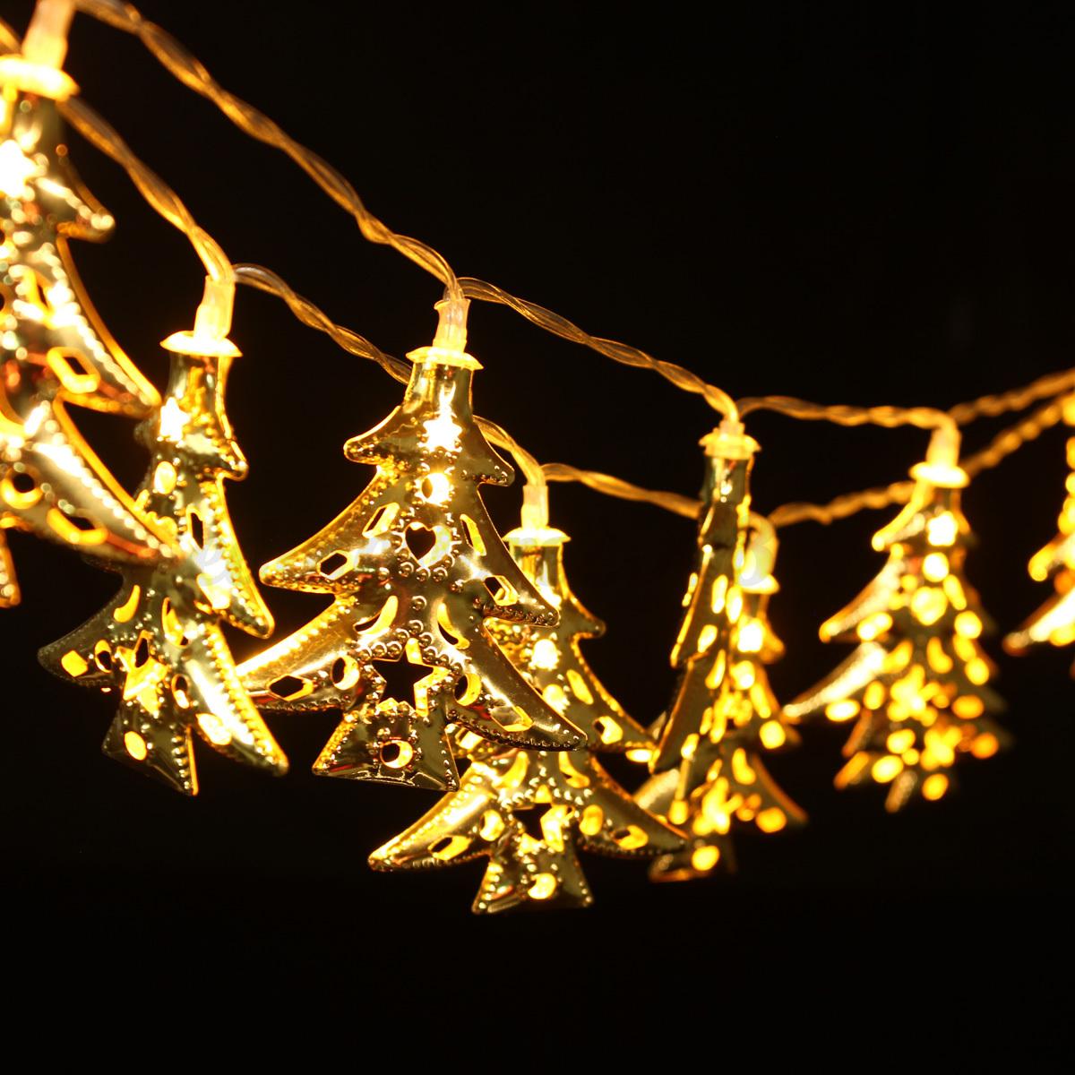 warm white christmas wedding xmas party decor outdoor string fairy light lamp ebay. Black Bedroom Furniture Sets. Home Design Ideas