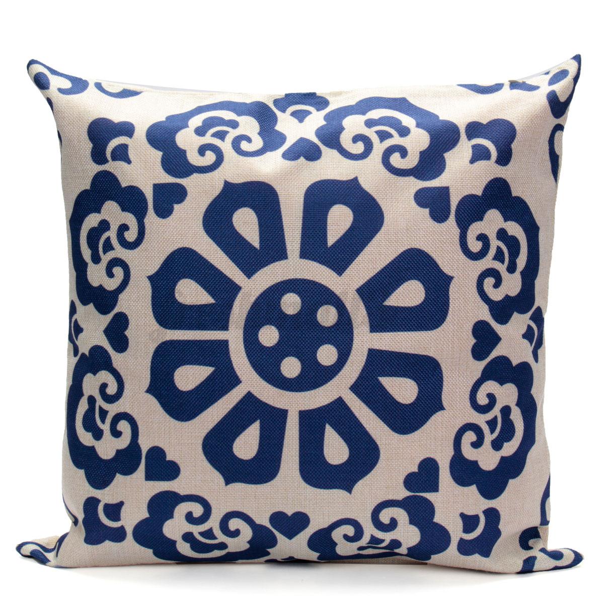 Vintage federa fodera cotone lino cuscino copricuscino per - Copricuscino divano ...