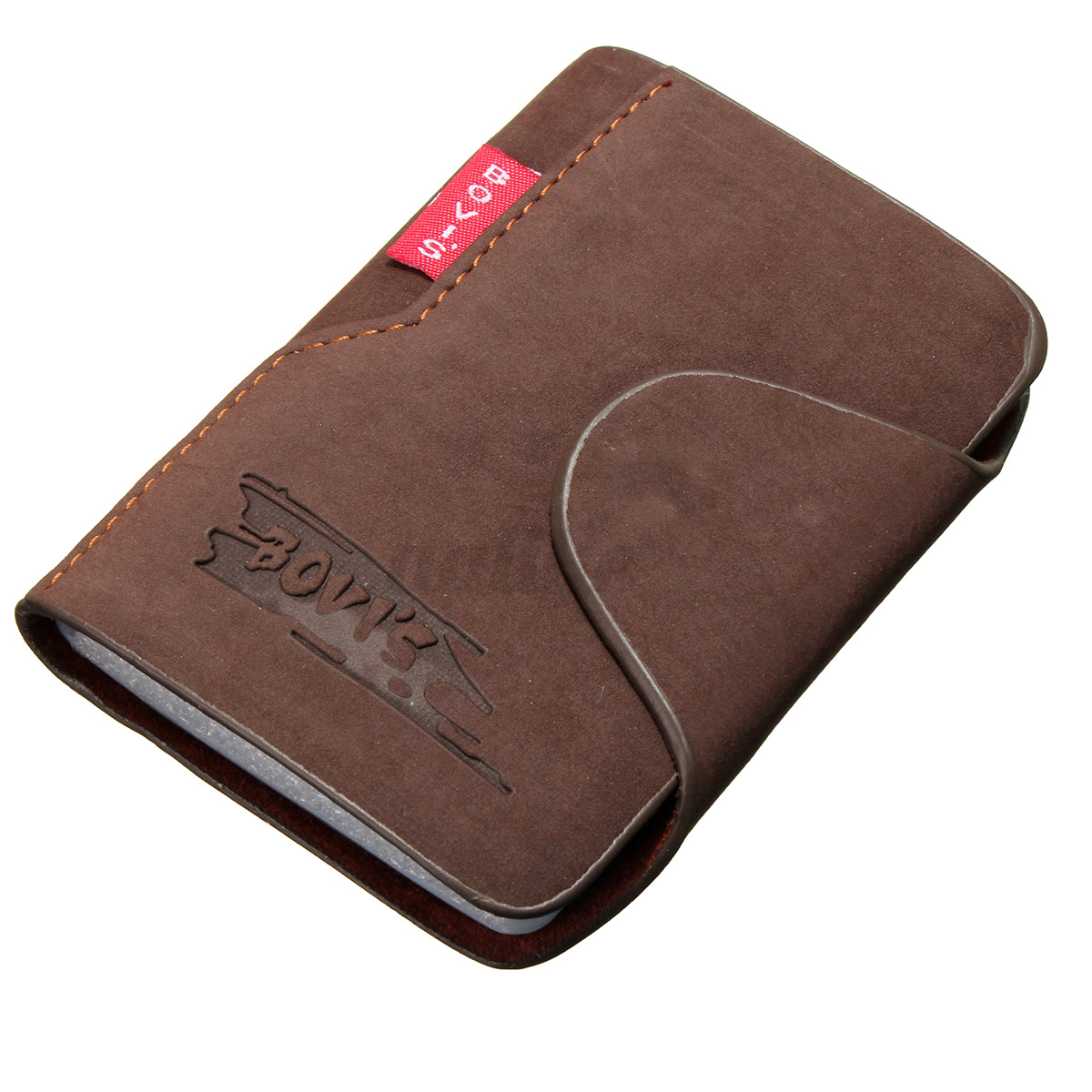 Mens-Luxury-Soft-Leather-Business-ID-Credit-Card-Holder-Wallet-Purse-20-Slots