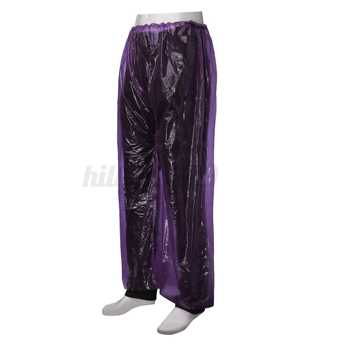 5PCS-Disposable-PVC-Trousers-Clear-Plastic-Pants-Waterproof-Festivals-Concert