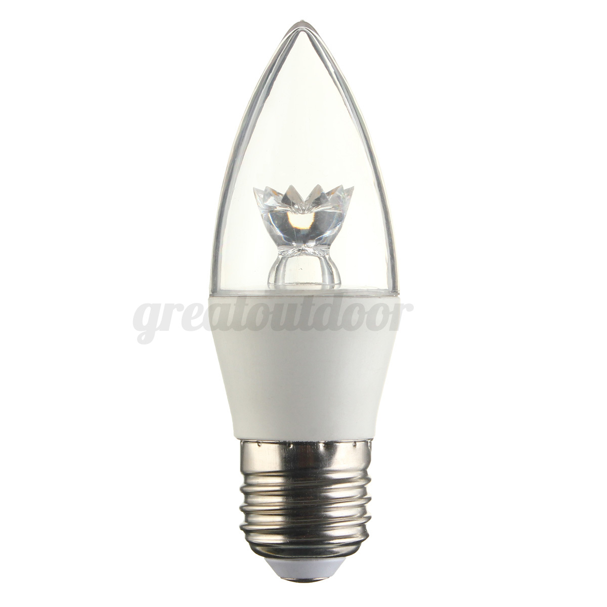 E27 E14 Es Ses 4w 5w 8w Led Dimmable Candle Globe Epistar