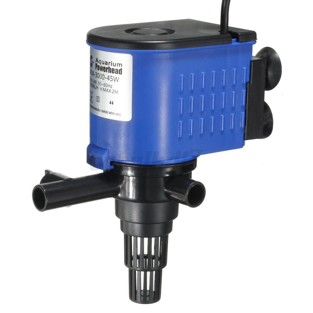 3 in 1 aquarium fish tank powerhead wave purifier filter for Fish tank oxygen pump